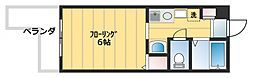 ジュネス高井田[203号室号室]の間取り