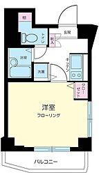 東京都新宿区西早稲田1丁目の賃貸マンションの間取り