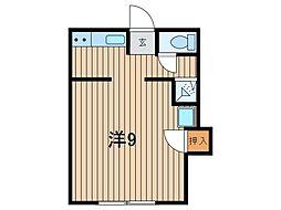 浦和本太アパート[5号室]の間取り