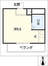 モールセゾンK・F[2階]の間取り
