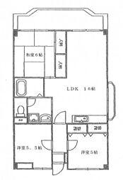 ファーレ高須[2階]の間取り