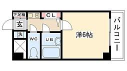 シンフォニー東大沼[315号室]の間取り