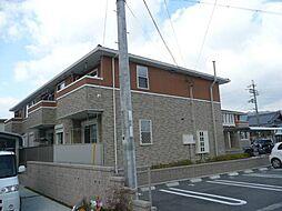 和歌山県紀の川市西大井の賃貸アパートの外観