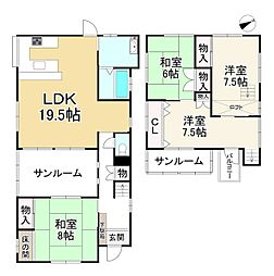 生駒駅 1,080万円