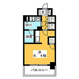 パークレジデンシャル博多[9階]の間取り