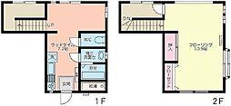 [テラスハウス] 東京都杉並区天沼2丁目 の賃貸【東京都 / 杉並区】の間取り