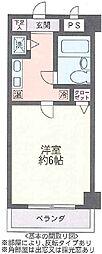 ハウス幕張[4階]の間取り