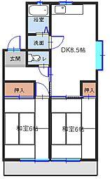 和歌山県有田郡広川町大字広の賃貸マンションの間取り