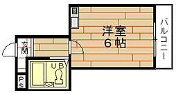 ヒロセハイツ[3階]の間取り