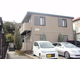 大阪府三島郡島本町若山台1丁目の賃貸アパートの外観