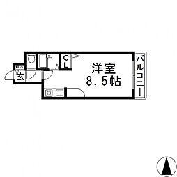 CTビュー小阪[310号室号室]の間取り
