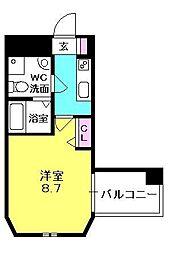 セレニテ西宮本町[706号室]の間取り