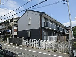 大阪府高槻市唐崎中4丁目の賃貸アパートの外観