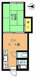 長坂荘[102号室号室]の間取り