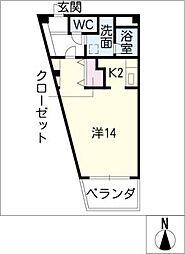FELICE[3階]の間取り