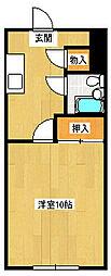 田町駅前ビル[2階]の間取り