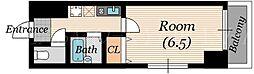 ガレット京橋[4階]の間取り