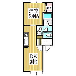 MINAMI[1階]の間取り