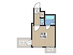 クリオ西川口壱番館[11階]の間取り