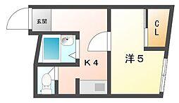 ヴィラナリー大和田[3階]の間取り