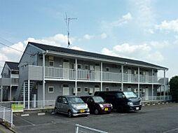 千葉県鎌ケ谷市北中沢の賃貸アパートの外観