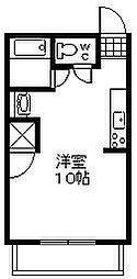 赤煉瓦館[102号室]の間取り