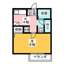 Progress Maki[2階]の間取り