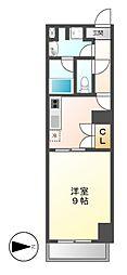 レジディア東桜[5階]の間取り