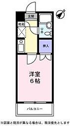 サンノーブル勝田台[205号室]の間取り