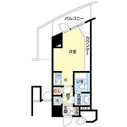 新潟ダイカンプラザ遊学館[4階]の間取り