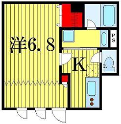 ARUITTE SHIBAMATA[1階]の間取り