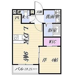 ファミリーステージ柴田[3階]の間取り