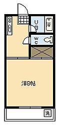シャルムK[307号室]の間取り