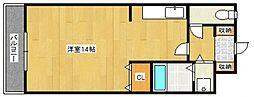 アザレアハイツ葉山[2階]の間取り