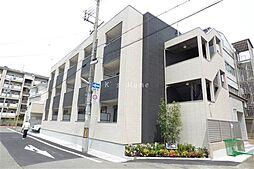 兵庫県神戸市長田区真野町の賃貸アパートの外観