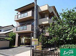 滋賀県大津市比叡辻2丁目の賃貸マンションの外観