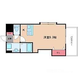 ラグゼ新大阪IV[4階]の間取り