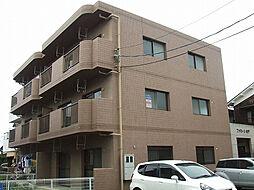 愛媛県松山市余戸西5丁目の賃貸マンションの外観