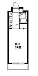 東京都町田市玉川学園8丁目の賃貸マンションの間取り