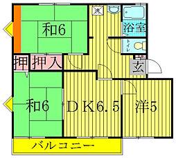 メゾン旭[2階]の間取り