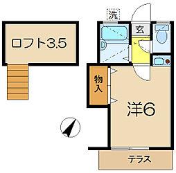 グリーンホームIII[1階]の間取り