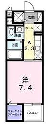 愛知県名古屋市千種区春岡通7丁目の賃貸マンションの間取り