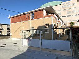 愛知県あま市中萱津法慶寺の賃貸アパートの外観