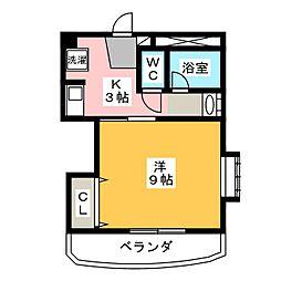 フラワーハウス大塚[2階]の間取り