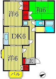広島建設柏旭町ビル[3階]の間取り