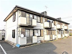 東京都昭島市宮沢町2丁目の賃貸アパートの外観