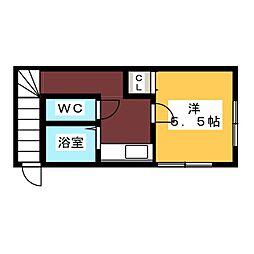モンパレス2[2階]の間取り