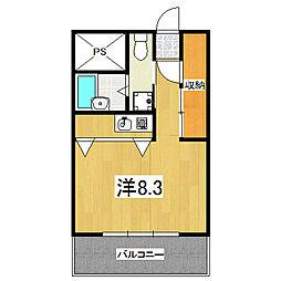 sumau[4階]の間取り