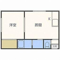 アーバンライフハウスNo2[2階]の間取り