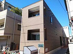 東京都中野区江古田4丁目の賃貸アパートの外観